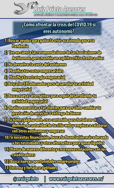 13 consejos para afrontar el COVID19