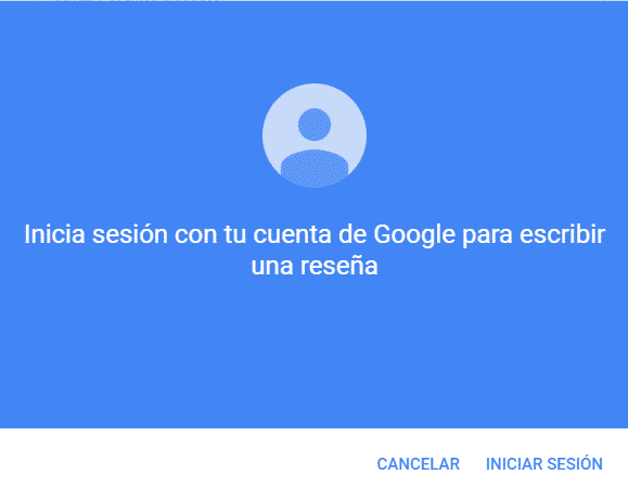 valorar un negocio en Google