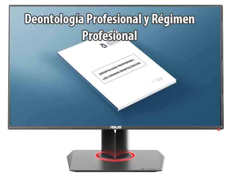 Apuntes de derecho: Deontología Profesional y Régimen Profesional