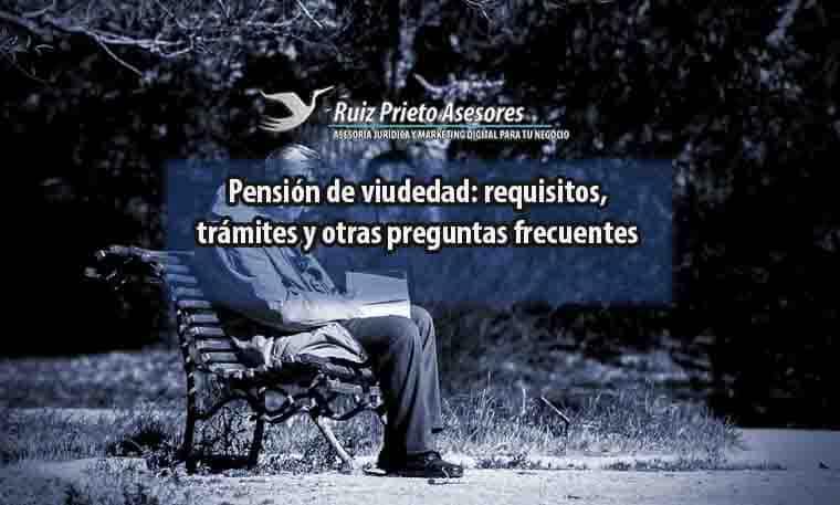 pension viudedad