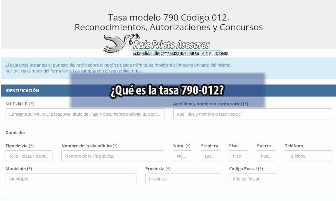Tasa 790-012: Todo sobre impuesto de expedición de la Tarjeta de Residencia