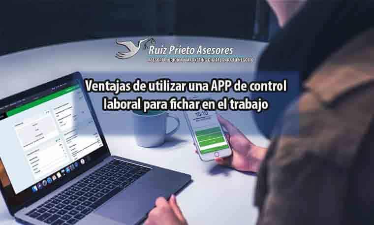 ventajas app control horario